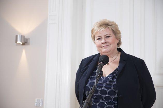 TILTAK: Erna Solberg har iverksatt tiltak for å hindre sin avgang som statsminister.