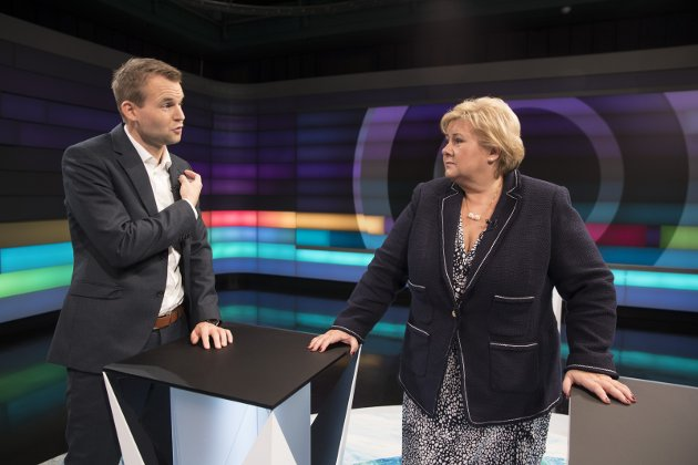 Høyt: Nestleder Kjell Ingolf Ropstad og Erna Solberg har skapt forventninger de skal slite med å innfri.