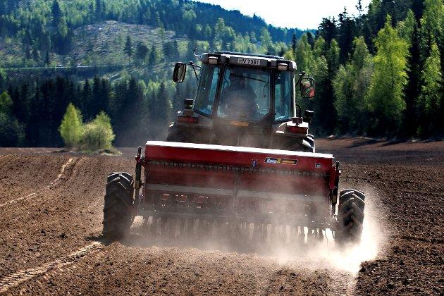 Oppgjør: Det er klart for et jordbruksoppgjør med tøffe forhandlinger.