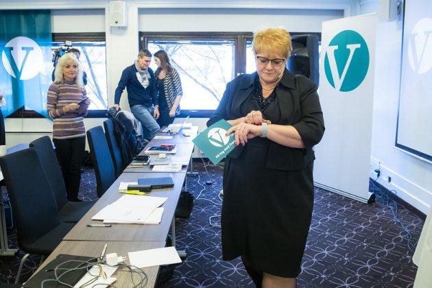 DÅRLIG TID: Trine Skei Grande har dårlig tid i forsøket på å vitalisere sitt parti.Foto: Håkon M. Larsen, NTB scanpix