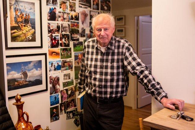 Thor Heyerdahl jr. på Lillehammer.