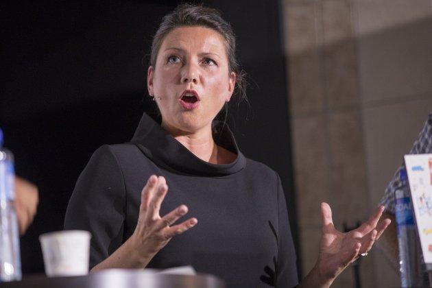 VIKTIG: Heidi Nordby Lunde, leder i Oslo Høyre, utfordrer Erna Solberg om ulikhet.Foto: Terje Pedersen, NTB scanpix