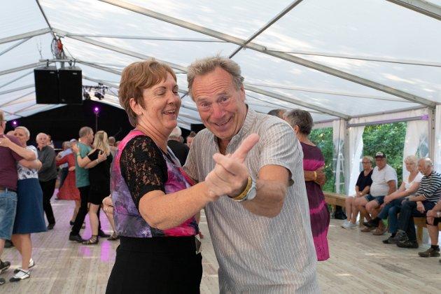 Roy Tor Thoresen og Jorunn Eikehol stortrivdes på dansefestival.