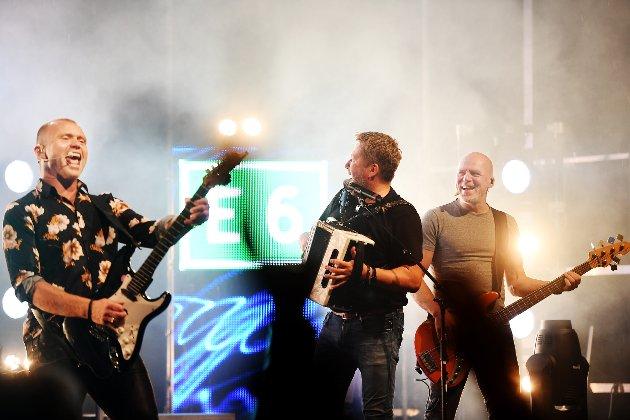 Konsert med DDE på Stortoget i Lillehammer.