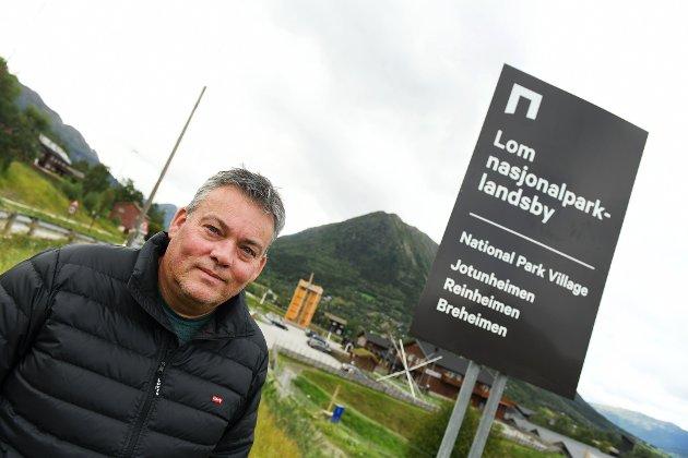 LOM: ei ny fasade med leilegheiter bak Nilsbua vil vera langt finare enn baksida på dagens lagerbygg, skriv Lom-ordfører Bjarne Eiolf Holø.