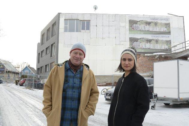 Vingnes Vel gleder seg over at det skal bygges på tomta ved eksefabrikken på Vingnes , men minner om at bebyggelsen på Vingnes er et helhetlig kulturmiljø som krever varsomhet.  Eivind Falk og Henriette C Jevnesveen.
