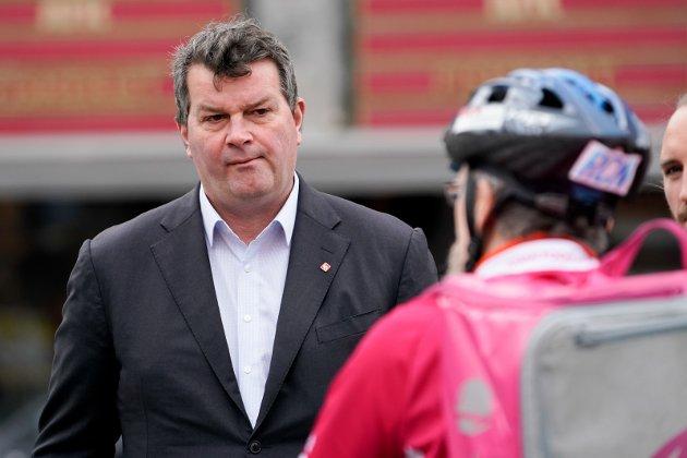 VARIG: LO-leder Hans-Christian Gabrielsen frykter med rette for at ledigheten vil bli større, også på lang sikt.