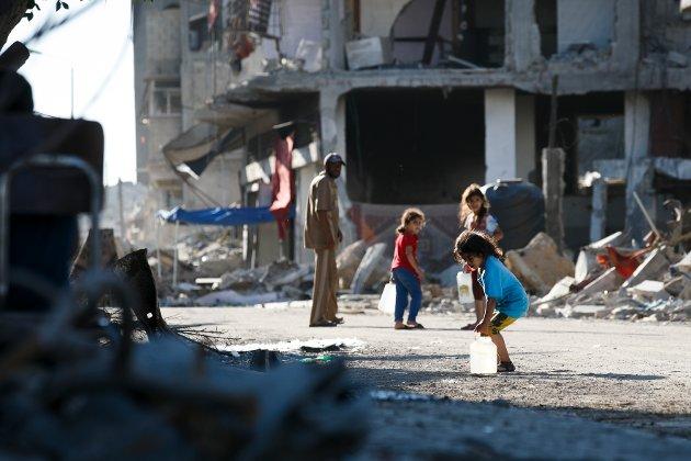 - Palestinere behandles som annenrangs mennesker, skriver Kari Elisabet Svare. Arkivfoto: Heiko Junge / NTB scanpix