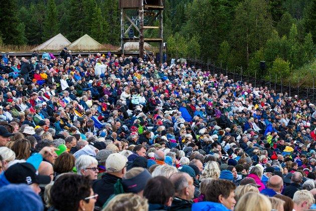 Begeistring: Politikernes begeistring for det de har opplevd på Gålå omsettes forhåpentlig i en mer forutsigbar fiansiering.