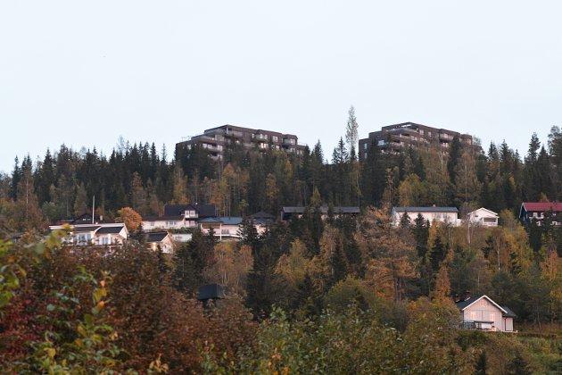 BYUTVIKLING: Lillehammer trenger ikke flere bygg som bryter med horisonten eller sperrer for utsikt.