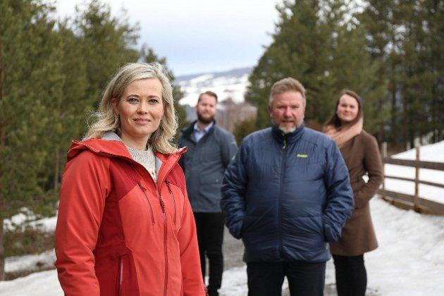 Topp 3 på Senterpartiet sin stortingsliste for Oppland
