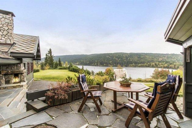 Denne hytta på Mylla kan bli din, men det koster. Prisantydningen er på 9,5 millioner kroner.