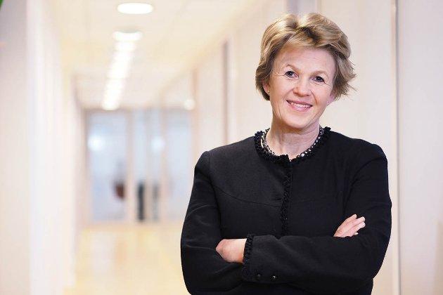 SVARER PÅ KRITIKKEN: Konstituert leder for Virke inkasso,  Ingrid Thinn Bjerke.