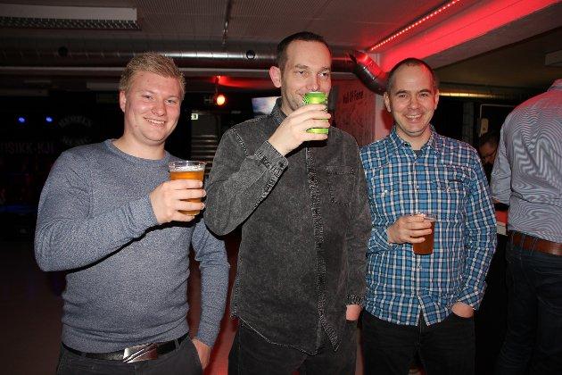 MORO: Lars Erik Klevengen, Marius Onstad og Simen Birkevold.