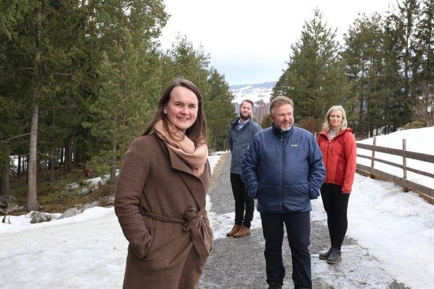 Fv. Marit K. Strand, Torleik Svelle, Bengt Fasteraune og Kjersti Bjørnstad