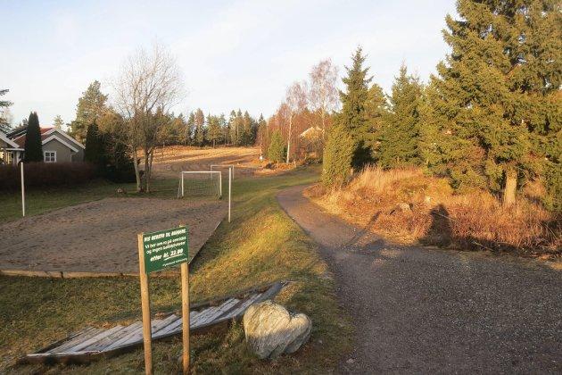 MARKAGRENSA: Dette bildet er fra boligområdet som for en del år siden ble etablert i starten av Høiåsmarka. Nå er det et ønske om å forlenge boligområdet i øst mot Ulvås. Det reagerer skribenten på.