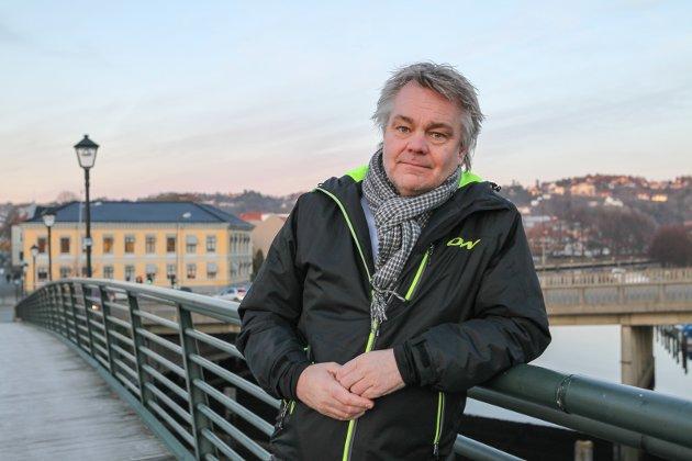 TØFT: Roger Meyer var ærlig om Halden HKs økonomiske situasjon. Arkivfoto: Morten Ulekleiv