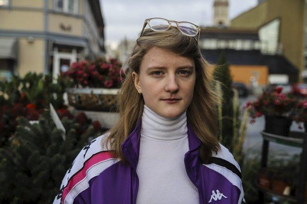 Uredd: Amalie Lund viste mot da hun tok et oppgjør med medrussen ved Halden vgs. Foto: Emely Hansen