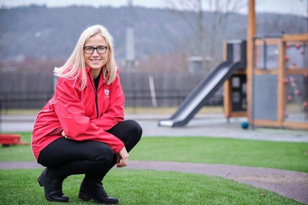 Linn Laupsa. Ordførerkandidat for Halden Arbeiderparti