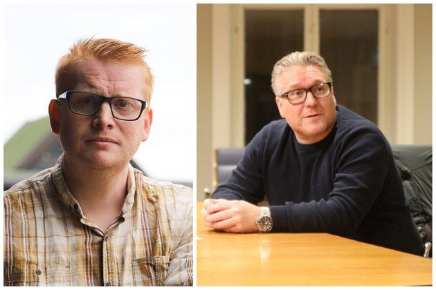 Fredrik Holm og Håvard Tafjord svarer Jens Bakke.