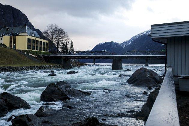 Opo: SKL har søkt om å bygge kraftverk og flaumtunnel. Arkivfoto: Eivind Dahle Sjåstad