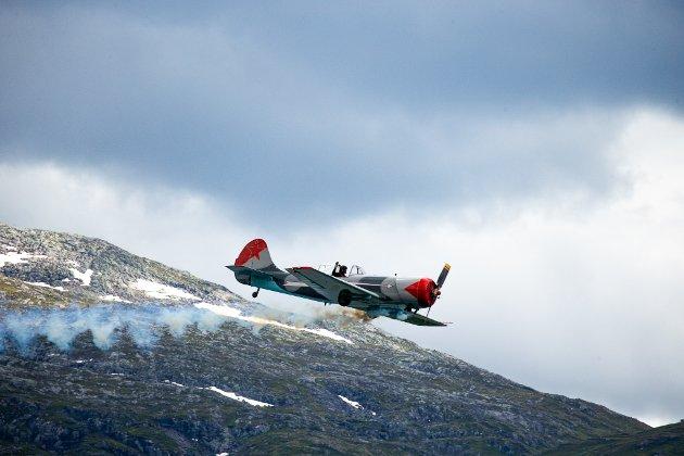 Flyakrobaten Kjetil Dalseid frå Eidfjord.