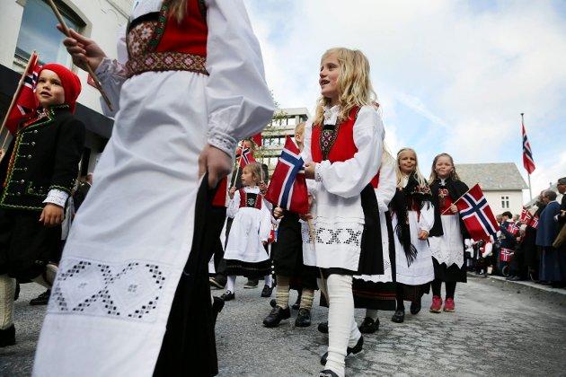 Haugesund 170515 Barnetoget i Haugesund