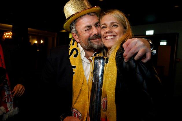 Oslo 1811 2017 Avaldsnes elite vant cupen og banketten. Arne Utvik og Elise Thorsnes