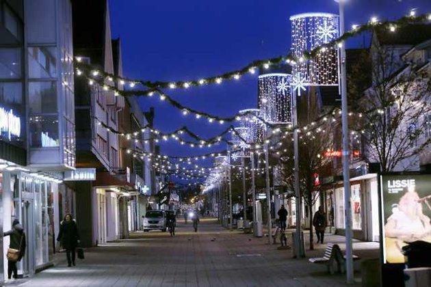 Torsdag åpner julegaten i Haugesund.