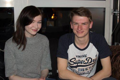 Emma Jespersen og Petter Mæland er ute på Haugesund i 100 for første gang.
