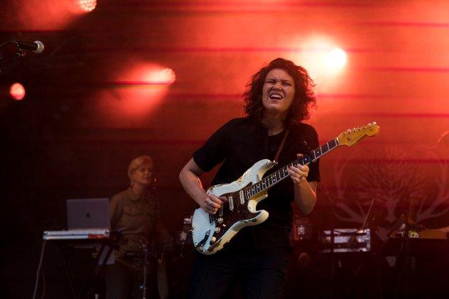 Fay Wildhagen spilte fredag under Den festivalen i Vangen.