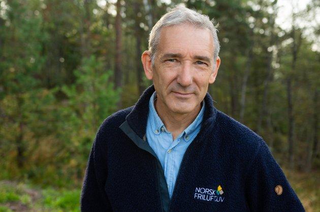 Lasse Heimdal, generalsekretær i Norsk Firluftsliv