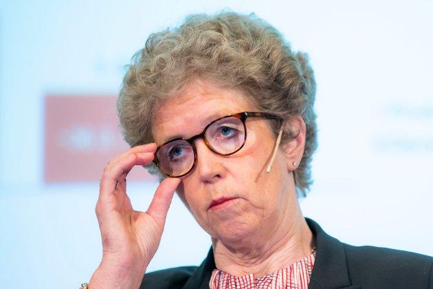 SELGER: Hydros konsernsjef Hilde Merete Aasheim mener de har funnet en god løsning for valseverkene på Karmøy, i Holmestrand og i Tyskland.