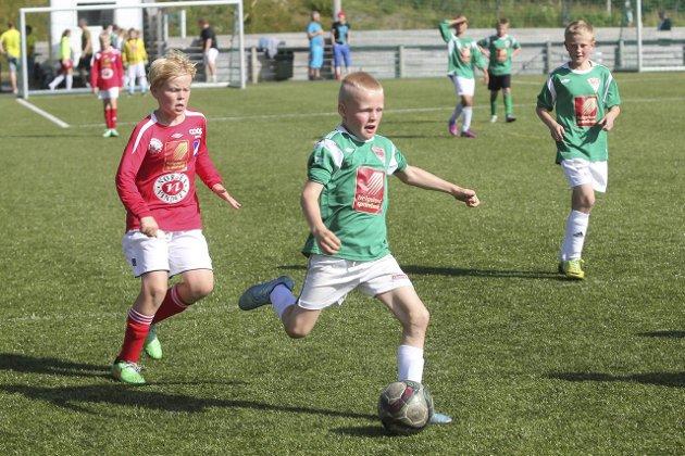 Hias-cup i fotball på Granmoen