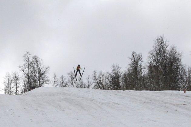 Vårhopprenn i Storhaugen Mosjøen, KM og NNM, Iver Leiråmo, Bossmo/Ytteren