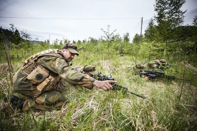 HEIMEVERNET: Skribenten er bekymret for ryggraden i det norske forsvaret: Heimevernet.