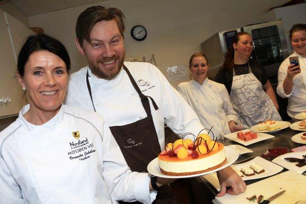 Dessertkurs med Sverre Sætre Veronika Jakobsen