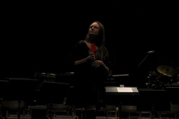 """Amalie Kummernes synger """"Learn to fly"""" på Ungdom på scenen"""