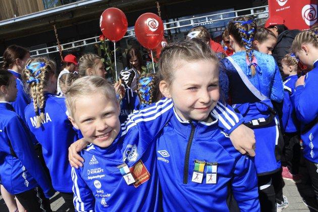 Turnstevne i Mosjøen, Ida Marie Drevvatn og Sanne Segtnan Thoresen