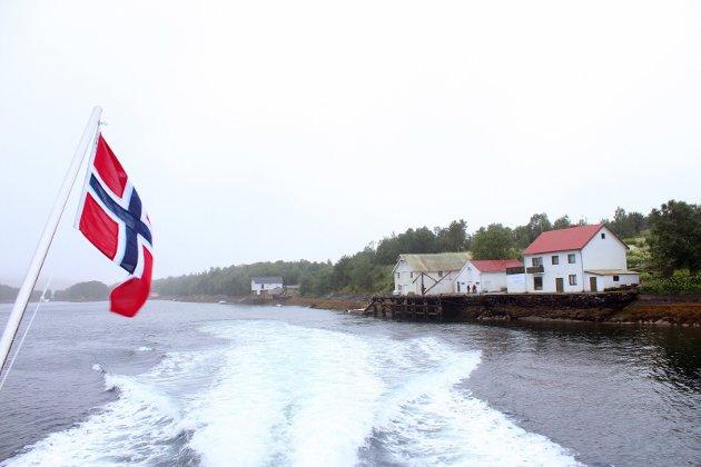 HURTIGBÅT: Forslaget om å endringer i rutetilbudet til hurtigbåten «Snøfjell» vekker sterke reaksjoner. Bærøyvågen er ett av stedene som blir berørt dersom planene blir gjennomført. Foto: Stine Skipnes