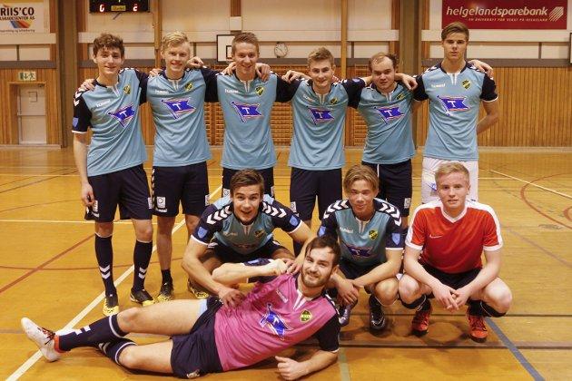 Kaffecupen 2017. Vinnere av aktiv klasse  Vevelstad Futsal