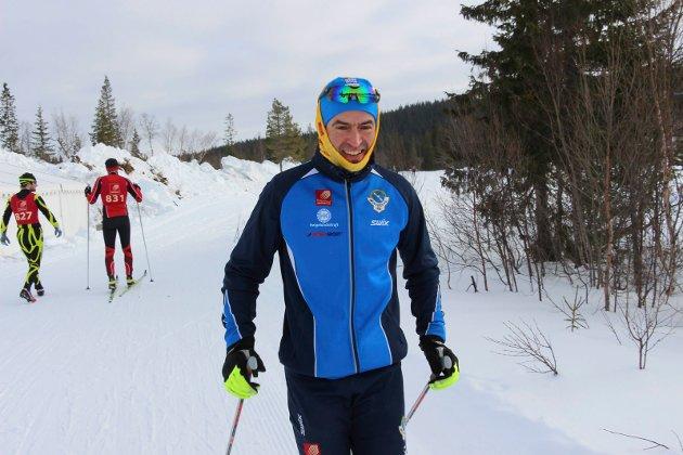 Yngvar Hansen er klar for 33 kilometer Hjartfjellrenn under flotte forhold