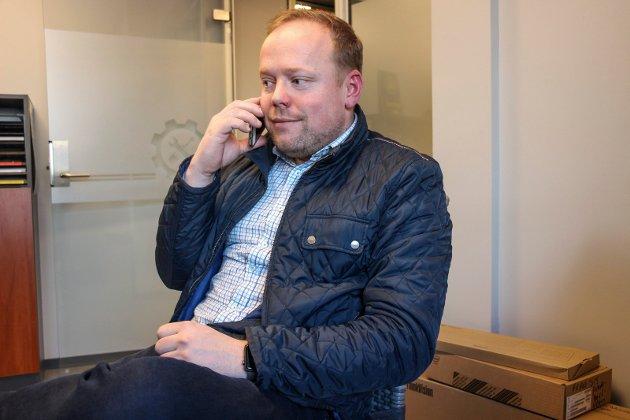FK-åpning i Mosjøen Ole Andre Gryttingslien, utbyggingsdirektør i FK