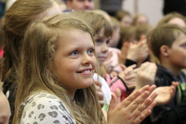 Skolekonsert med kulturskolen i vefsn, ved Kulstad skole. Kulstad musikkverksted