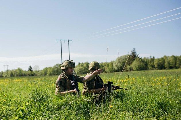 HV-14 har hatt 700 soldater inne til årlig trening under øvelse Helgeland som har foregått mandag 28. mai til fredag 1. juni. Øvelsen har funnet sted i store deler av Helgeland med hovedvekt på Sør-Helgeland.