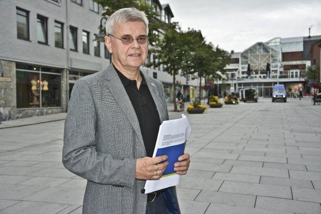 TILSVAR: Ole H Hjartøy, Regiondirektør i NHO Nordland, svarer på et innlegg fra LO, Fagforbundet og Fellesforbundet i Nordland. Foto: Trude Landstad