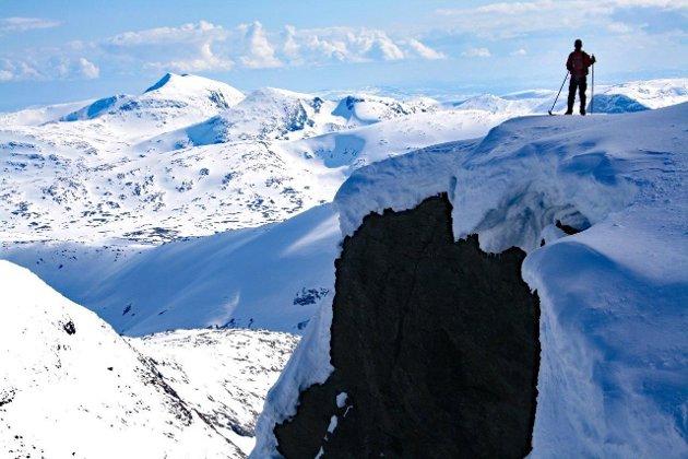 Topptur på Golvertind, Kvigtind i bakgrunnen