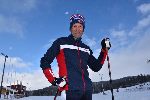 TRENINGSEFFEKT: Den riktige holdningen til øving er avgjørende for effekten av trening, fastslår Per Øyvind Torvik. Selv tar han seg gjerne en skitur.