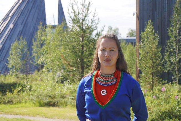 Maja Kristine Jåma, 1. kandidat for Norske Samers Riksforbund til Sametingsvalget i sørsamisk valgkrets.