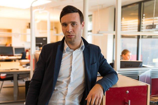 Arne Reginiussen, ansvarlig redaktør og daglig leder i Finnmark Dagblad AS.